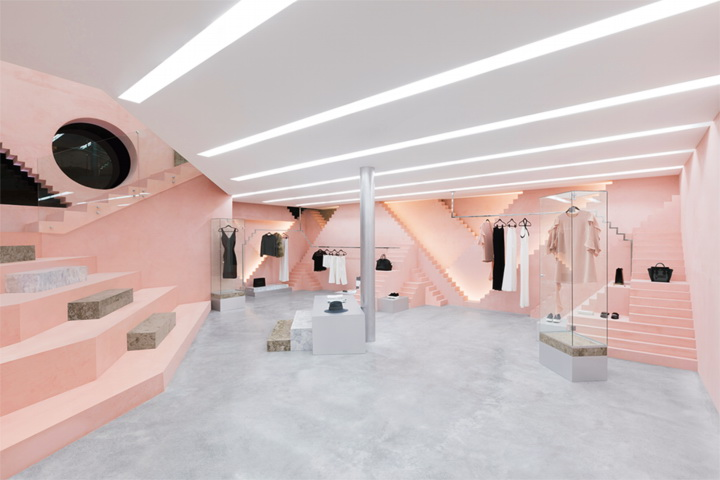 Novelty high couture store in New York by Anagrama