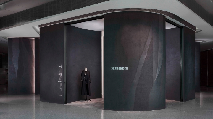 Surrender boutique Singapore - studio Asylum's design