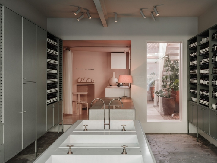 Aesop Store in Fitzroy, Melbourne by Clare Cousins Architects