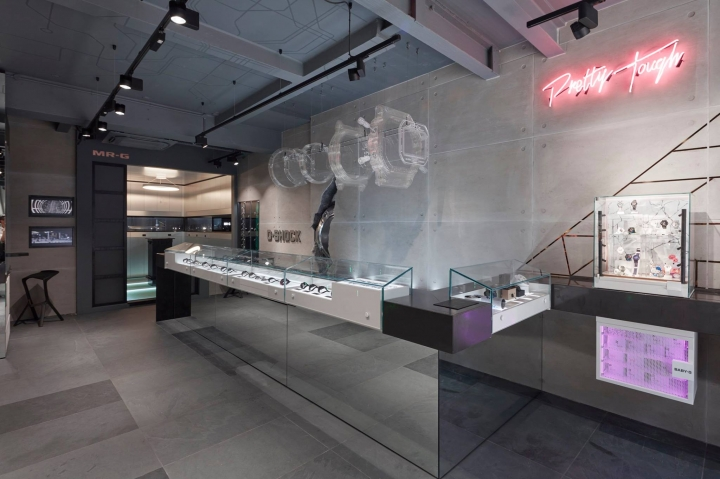 G-SHOCK new flagship store concept in London by Double Retail