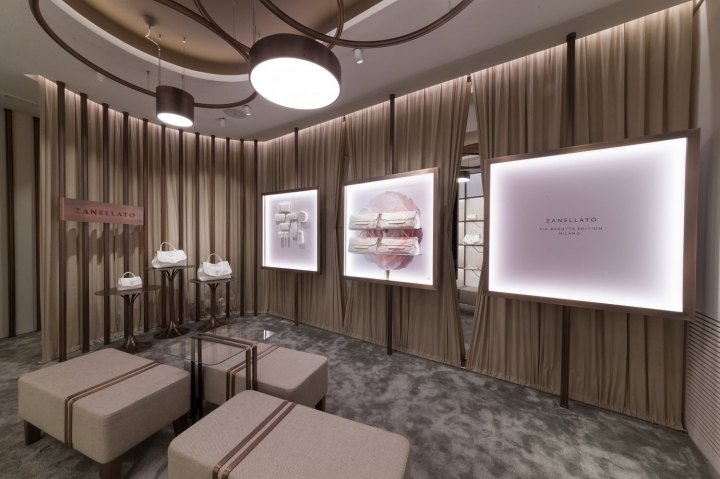 ZANELLATO Boutique interior design by MRZarchitetti