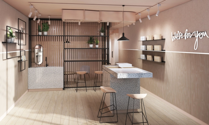 Skinsmiths first UK store in London by YourStudio