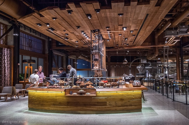 Starbucks Reserve Roastery and Tasting Room in Capitol Hill -Seattle.