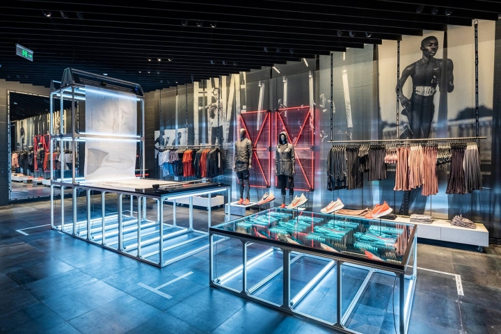 Nike Shanghai flagship store - the first Nike House of Innovation