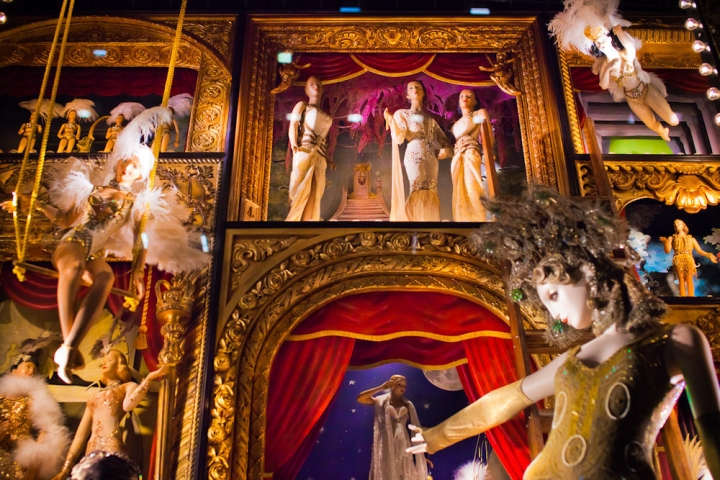Bergdorf Goodman Jazzes Up Fifth Ave with Its Holiday Windows