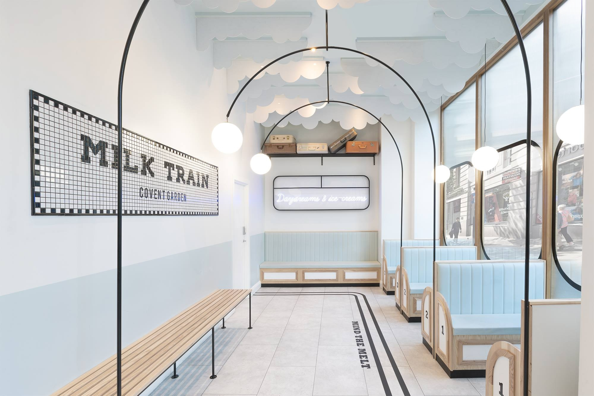Milk Train Art Deco interior by FormRoom