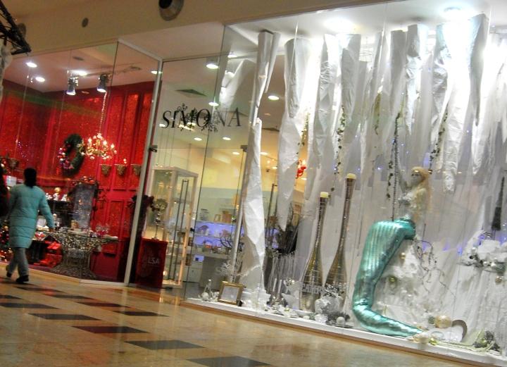 Simona windows display  / Amenjare vitrine Simona - 2012 winter