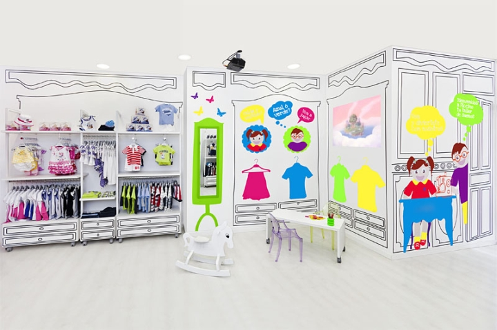 Piccino store design