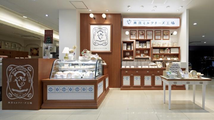 Tokyo Milk Cheese Factory shop design