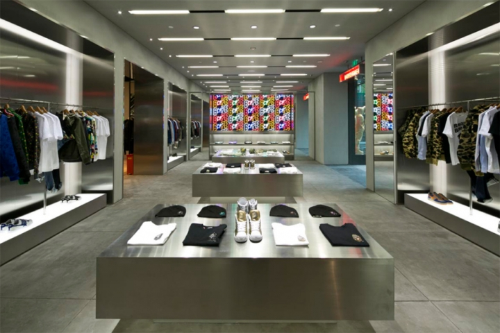 BAPE OTLET STORE design in Shanghai CITIC City Plaza