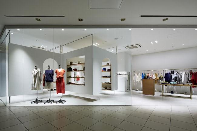 "note et silence"" Retail shop design in Kobe, Japan"