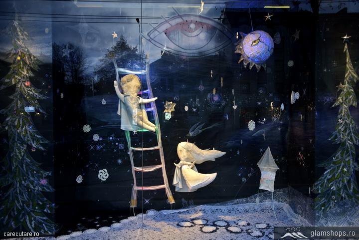 vitrina de craciun stardust 2012 -madison perfumery bucuresti