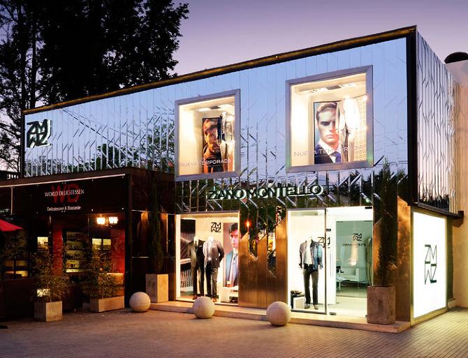 Ziano Montello luxury shop by DaW in Santiago Chile