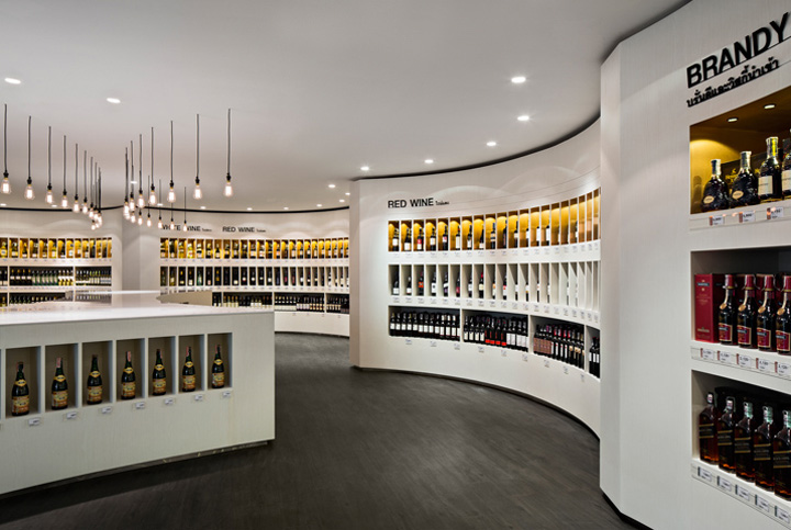 Diageo concept store by Fourfoursixsix, Bangkok