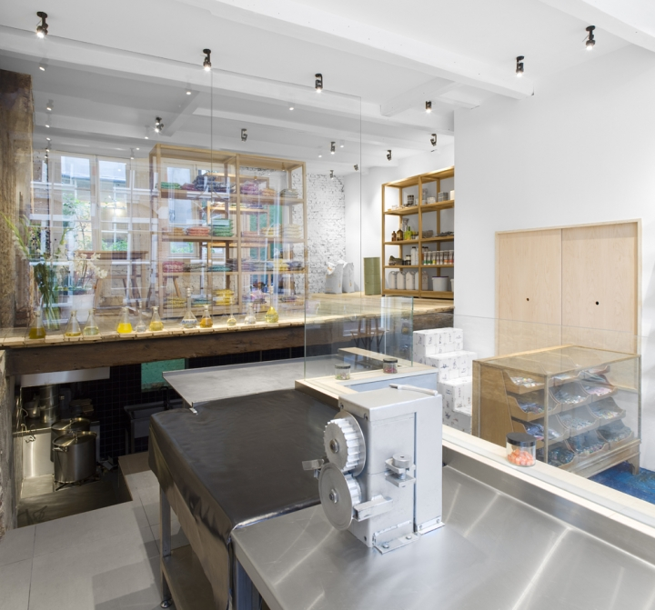 Papabubble cady store design Amsterdam by Yusuke Seki