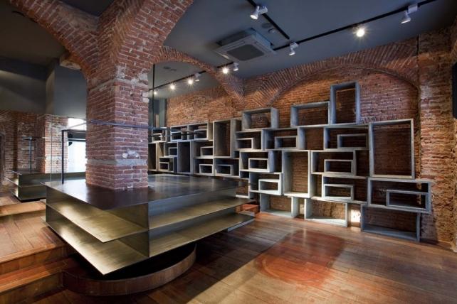 Sun68 Flagship store design in Milano by cp architetti