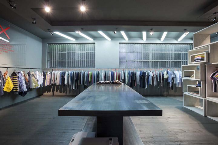 Sun68 showroom design in Padova by cp architetti