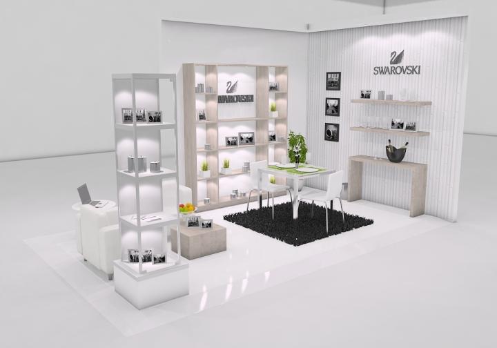 Swarovski stand design at 26th ABUP show Sao Paulo
