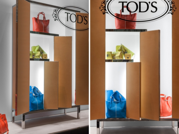 tod's window display' by nendo studio