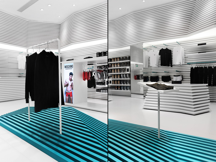 UMix of top underwear and casual wear multi- brand store by AS Design, Macau