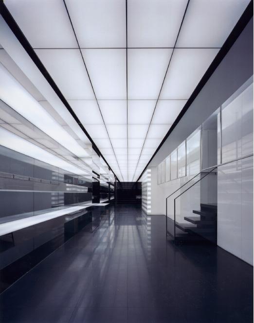 Dior minimalist interior layout