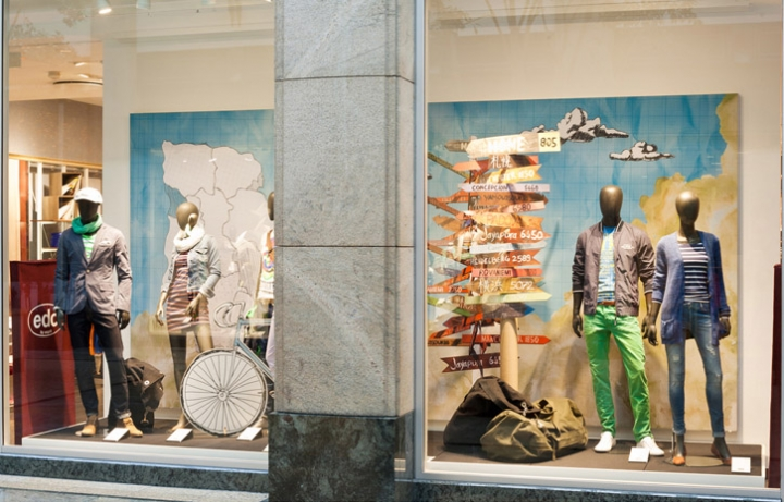 edc windows Spring Summer 2013 by Deck5, Ratingen – Germany