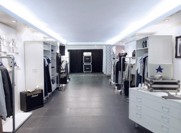 Levi's Blue Shop-in-shop - uxus design concept