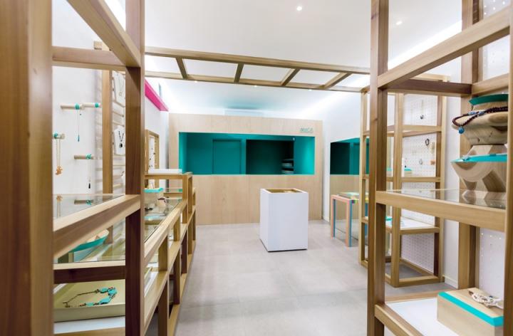 MICA jewellery house Branding & Industrial & Interior
