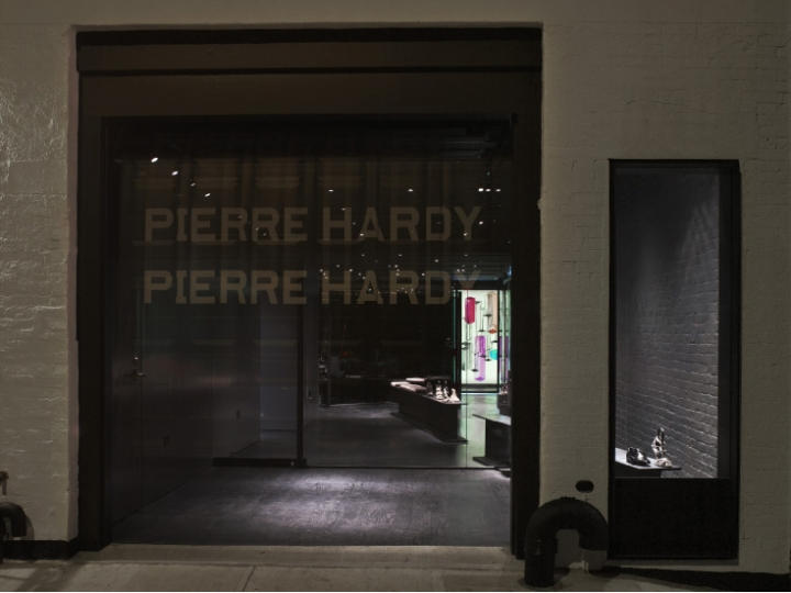 Shoe-Sensation Pierre Hardy shop in New York