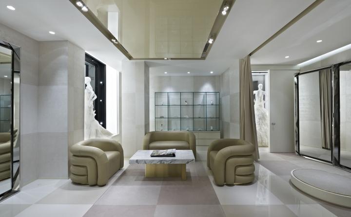Vakko's luxury Wedding store in Istambul