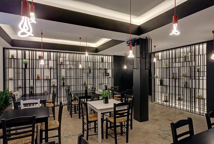 'Stin Platia' Restaurant by Eleftherios Ambatzis