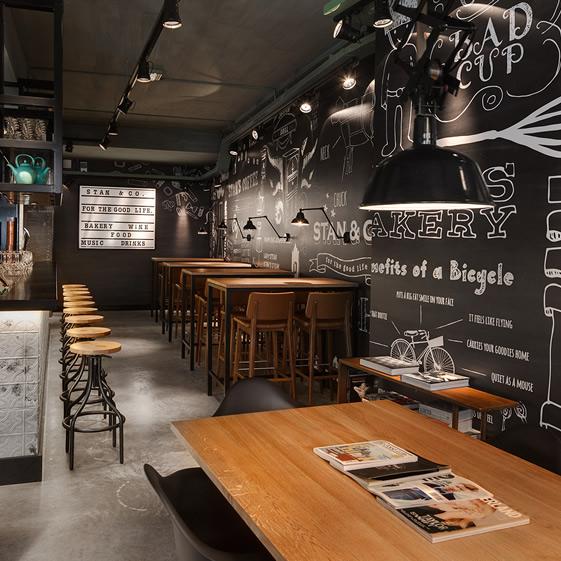 Stan & Co country freshness restaurant at Utrecht