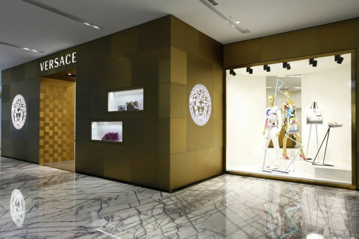 Versace Boutiques Opening in Shanghai IFC and Takashimaya