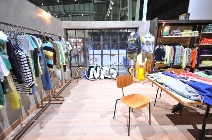 CAMPUS shop visual merchandising