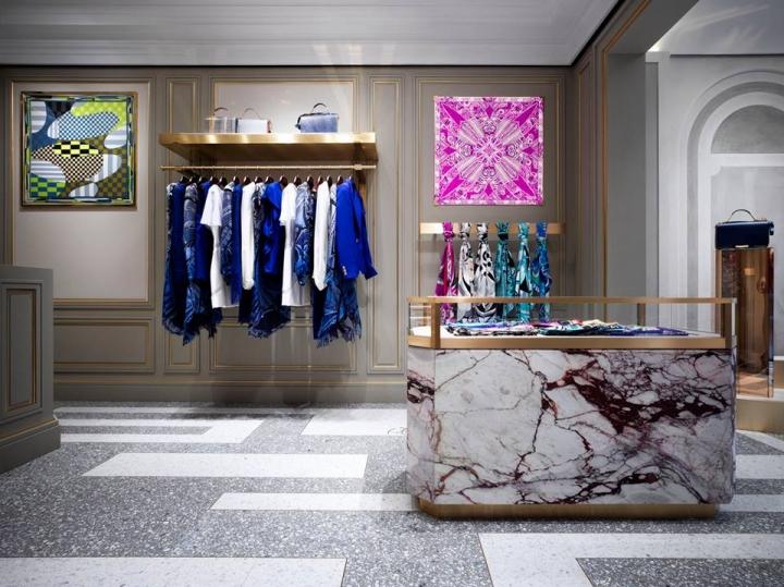 Emilio Pucci opens a new boutique in Rome