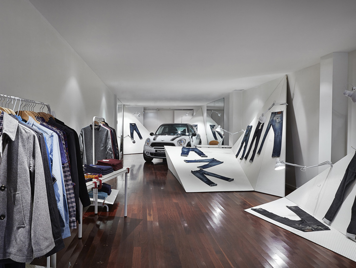 Mini Paceman concept store by Edwards Moore, Mebourne