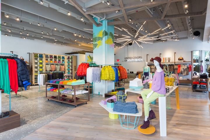 United Colors of Benetton flagship store, Miami – Florida