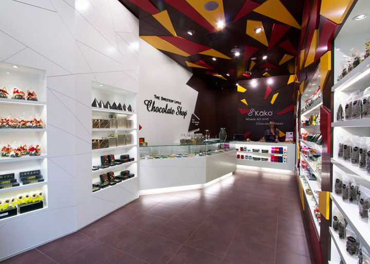 The Sweetest Little Chocolate Shop by indesign, Auckland – Australia