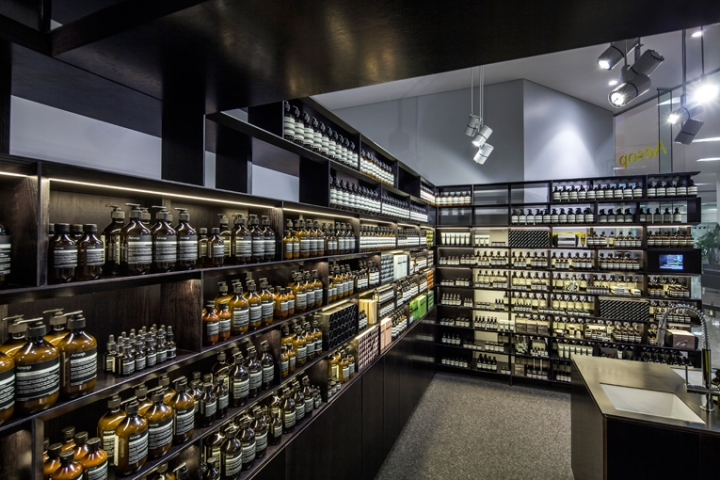 Aesop store opening in Enex100 mall