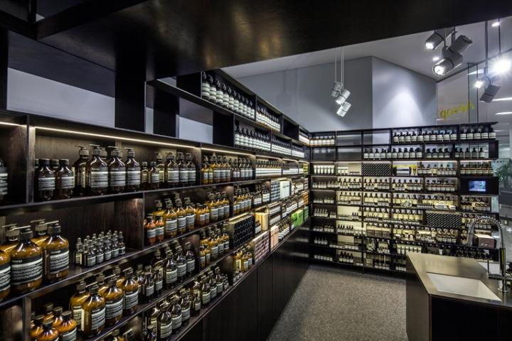 aesop store opening in Perth Australia