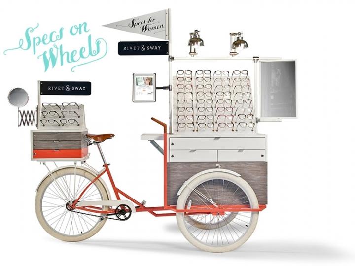 Rivet & Sway tricycle Pop Up Shop