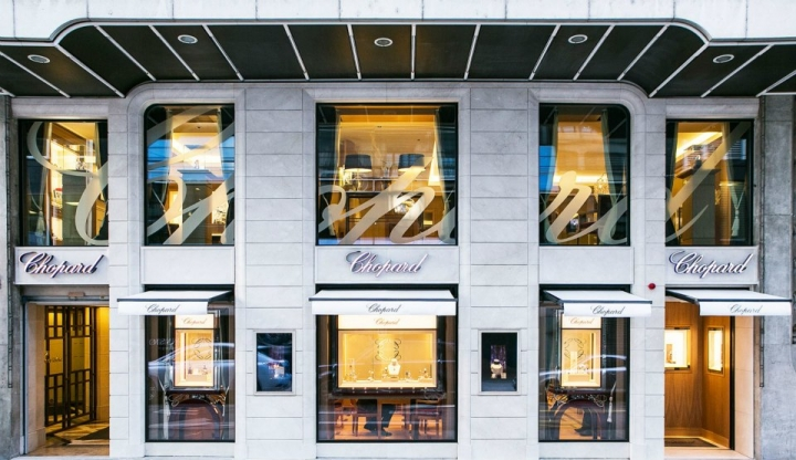 A new look for Chopard Boutique in Geneva