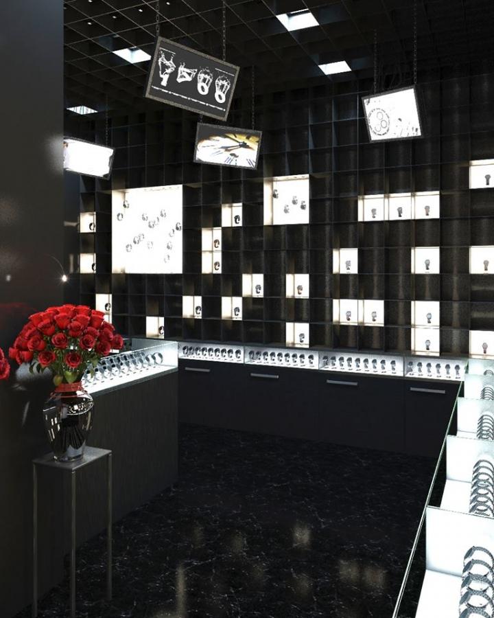 Va Bene watch boutique by Studio Belenko
