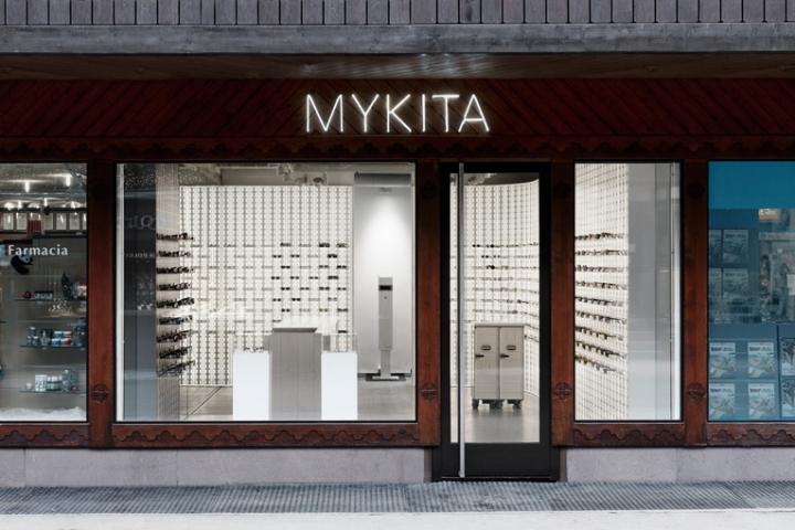 Mykita store in Zermatt