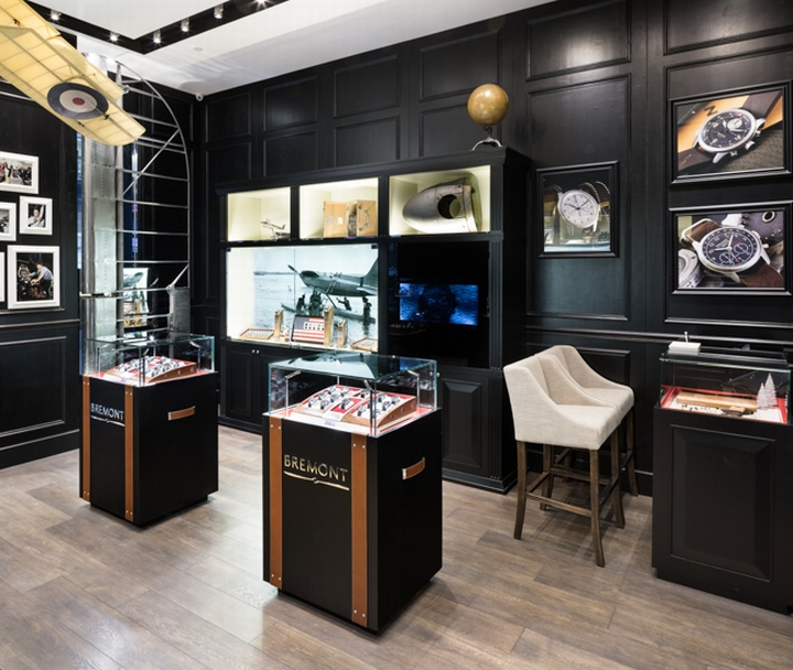 Bremont watches boutique by Pop Store, Hong Kong