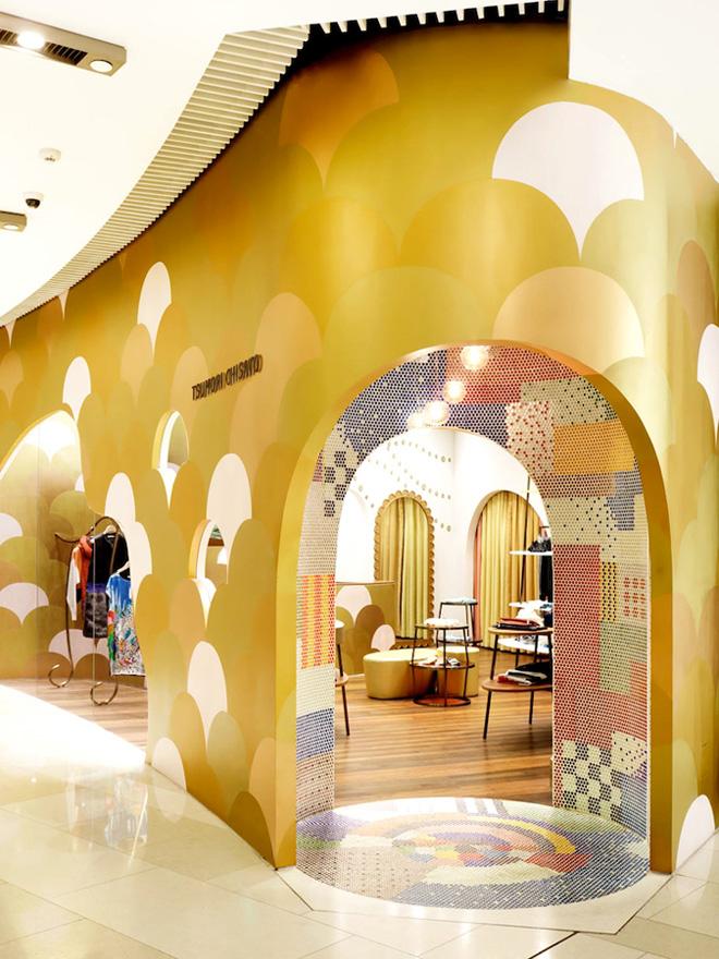 Tsumori Chisato Shanghai flagship store by Igarashi Design Studio