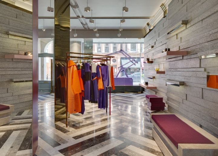 David Adjaye completes Roksanda Ilincic's first London boutique
