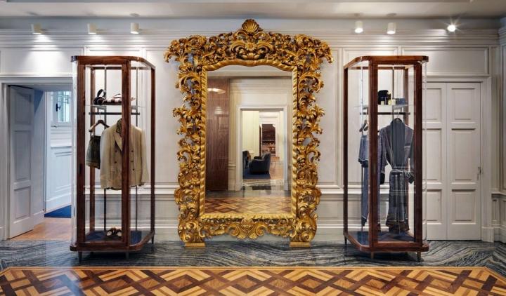Dolce&Gabbana menswear flagship store in Milan on Corso Venezia
