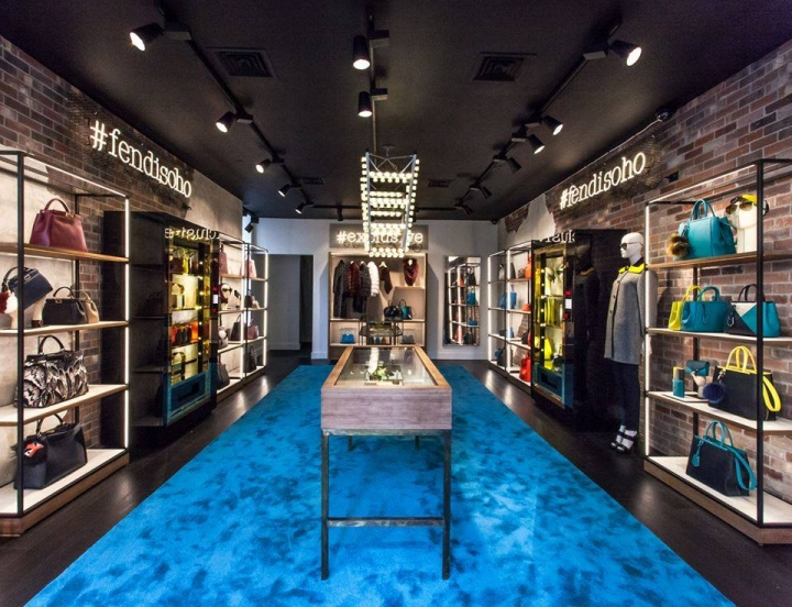 Fendi Soho Pop-Up store New York