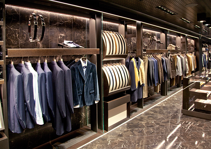 Canali flagship boutique in Madrid